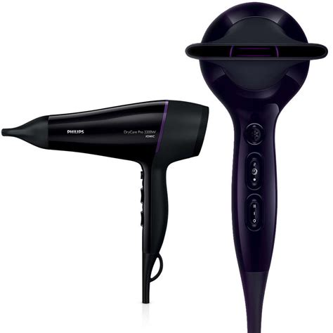 Philips Hair Dryer With Attachments philips 2200w professional hair dryer hairdryer ac motor