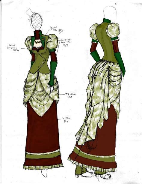 victorian design clothes victorian steunk fashion design 2 by angerbunnie on