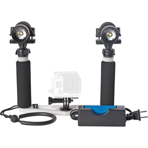 Blue Light On Gopro by Equinox Gopro Tray With Dual Big Blue Gpcdal900xy B H