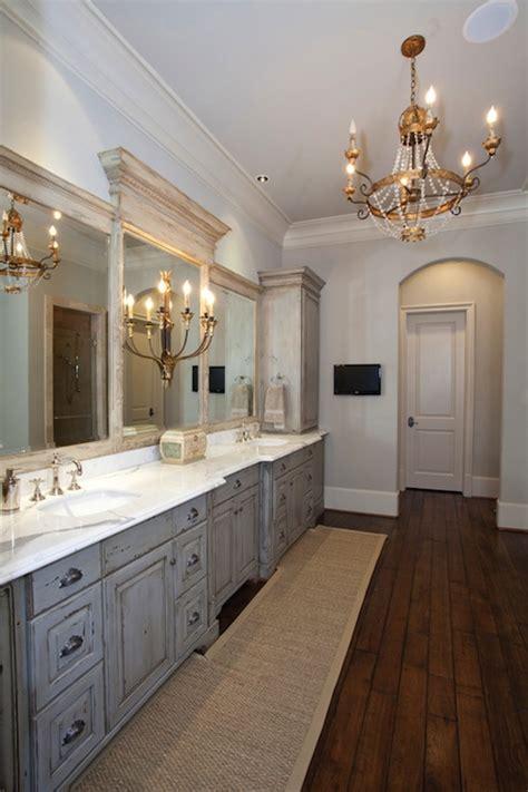 gray cabinets in bathroom distressed bathroom cabinets french bathroom