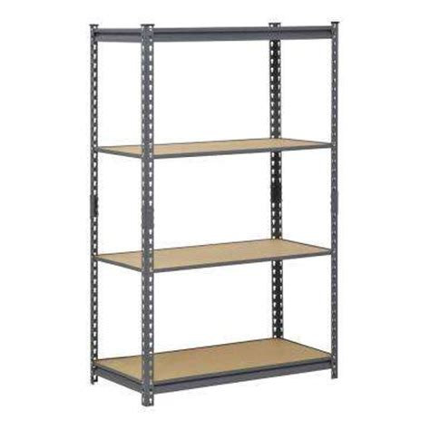 Garage Organization Unit Edsal Garage Shelving Units Garage Shelves Racks The Home
