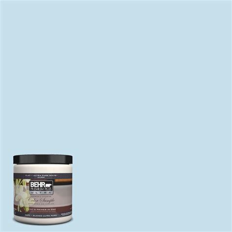 behr premium plus ultra 8 oz pph 40 lovely blue sky interior exterior paint sle pph 40 u