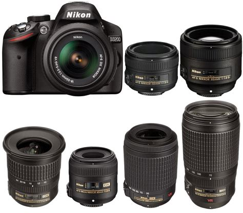 nikon all your guide to get the right nikkor lenses for nikon d3200