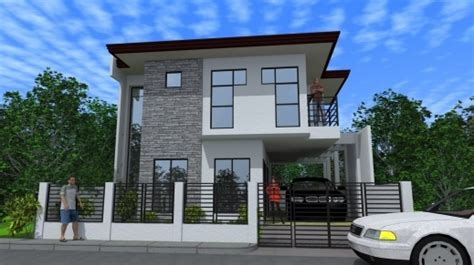 two storey residential house design inspiring modern two storey house designs modern house design in philippines 2 storey