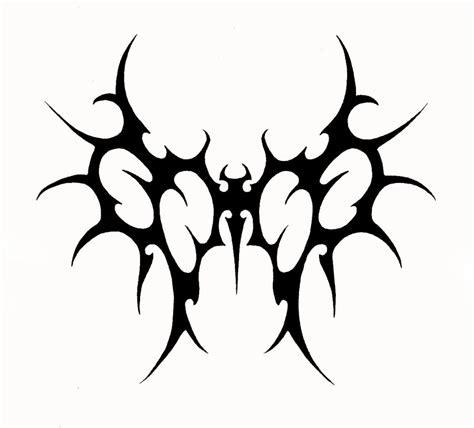 devil tribal tattoo tribal wings stencil tattooshunt