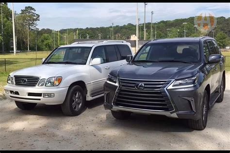 older lexus suvs 2016 lexus lx 570 vs 2006 lexus lx 470 video autotrader