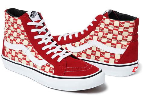 vans checkered pattern supreme x vans checkerboard pack sneaker bar detroit