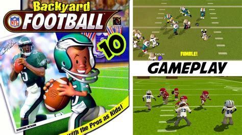 backyard football gameplay backyard football 10 gameplay ps2 hd youtube