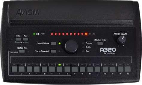 Aviom Template aviom products a320 personal mixer