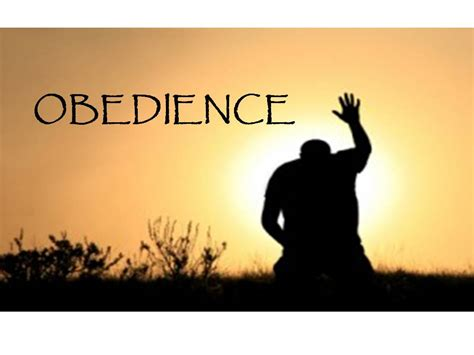 how to obedience to a obedience obedience to the word