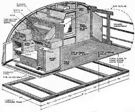 Teardrop Cer Floor Plans In A Teardrop Trailer How To Build A Tear Drop Trailer