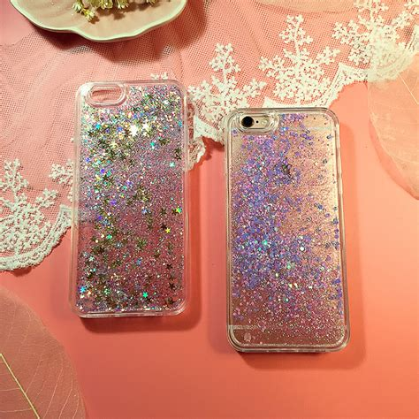 perfect glitter flowing sequins cases cover  iphone