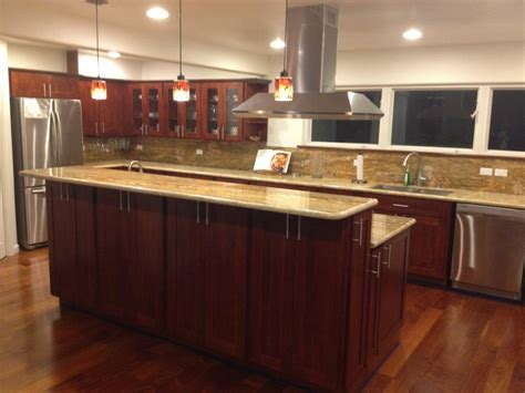 c kitchen burgundy cherry c c cabinets and granite
