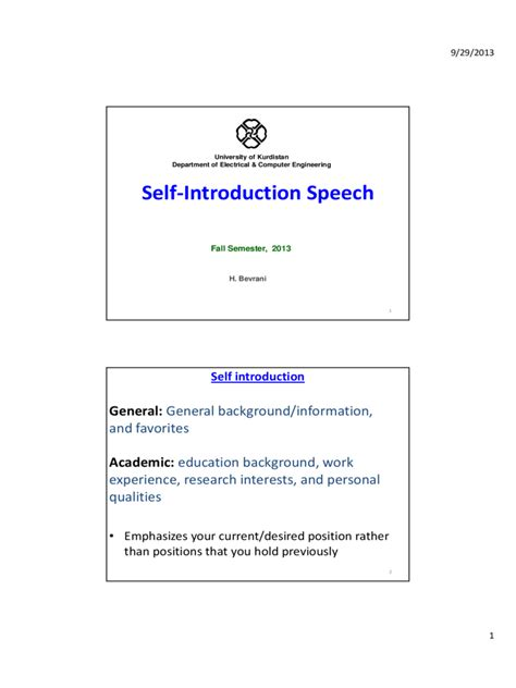 introduction speech for x mas self introduction speech exles 1 free templates in pdf word excel