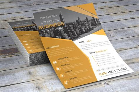 30 office flyer templates free word design templates