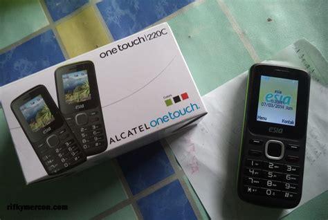 Hp Esia Alcatel 220c review esia airflash alcatel onetouch 220crifkymercon