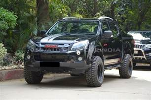 Isuzu Dmax Modifications Pray That This Modified Isuzu D Max V Cross Doesn T Cross