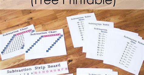 printable montessori addition strip board free printable subtraction strip board montessori