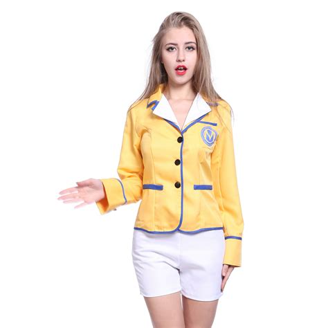 without its dressing style costumes makeup and its jewellery 80s sexy ladies c hi de hi 80s yellow coat shorts