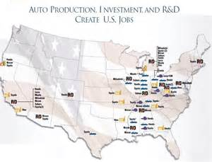 Toyota Plants In Usa Carpe Diem Japanese Automakers Employ 407 000 Americans