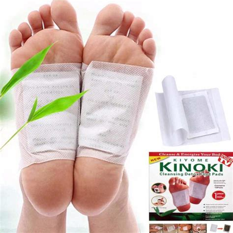 Compass Assessment Foot Detox by Kinoki Detox Foot Pads Organic Herbal Cleansing Patches 10