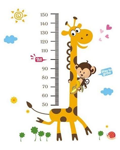 imagenes de jirafas para recortar jirafa medidora altura 1 80 cm ancho 1 metro plancha