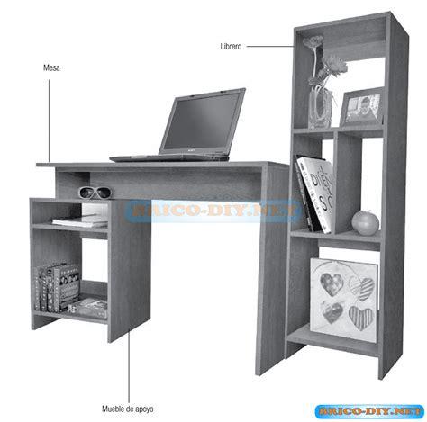 escritorios web plano como hacer un mueble escritorio de melamina y