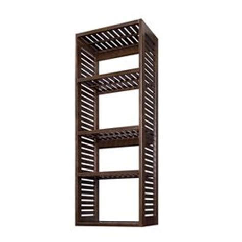 allen and roth ventilated wood tower allen roth cappuccino hanging ventilated wood tower