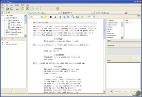 best free script writing software free script writing software for mac