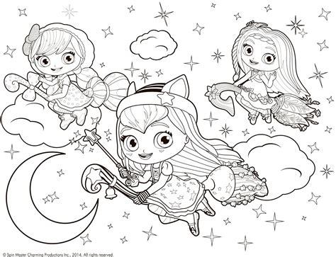 www coloring mewarnai little charmers gooooo krayon