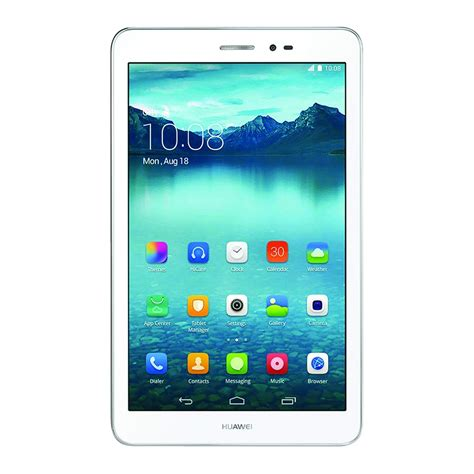 Huawei Tablet Android Huawei Mediapad T1 8 0 Pro 8 Inch 16gb 1 2ghz 5gb Android Tablet In White Ebay