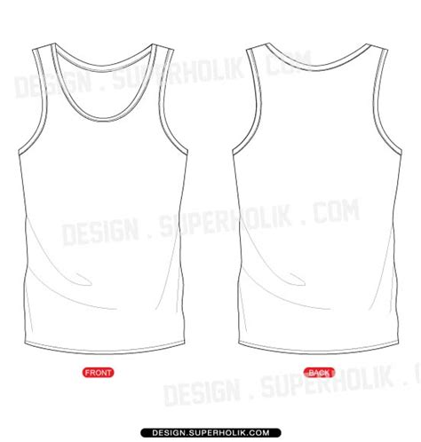 vest top template fashion design templates vector illustrations and clip