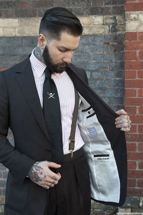 suspender tattoo 25 best ideas about suits and tattoos on the