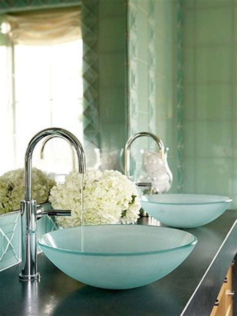 Sea Glass Bathroom Ideas Bathroom 16 Glass Sink Ideas For Bathroom Stylishoms