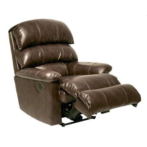 leather wall hugger recliner catnapper templeton leather power wall hugger recliner in