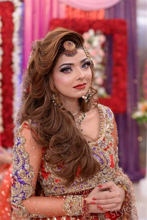 making hairstyles at home in pakistan latest pakistani bridal dresses and bridal makeup