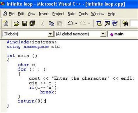 pattern programs in c using do while loop image gallery loop program