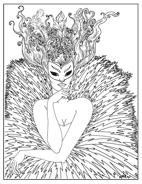 coloring pages for adults masks fantasy coloring pages s mac s place to be