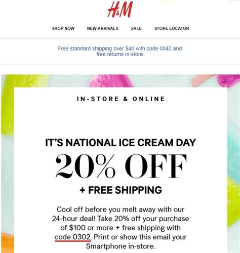 An Hm Offer For All by 20 H M Coupon Code 2017 H M Promo Code Dealspotr