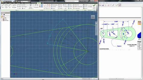 autodesk inventor tutorial   sketch
