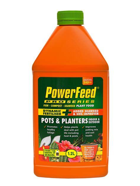 powerfeed pro series pots planters indoor outdoor