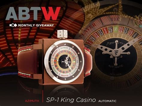 Watch Giveaway - watch giveaway azimuth king casino ablogtowatch