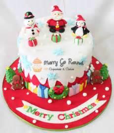 25 christmas cake decoration ideas