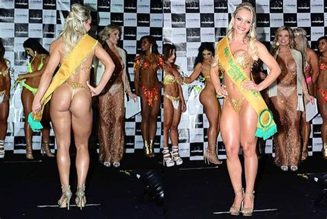 miss bumbum brasil 2014 catarinense 233 eleita miss bumbum brasil 2014 o dia