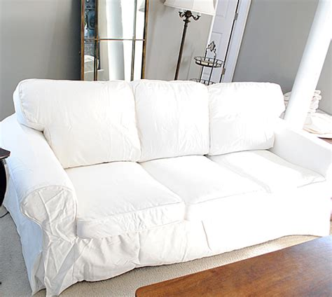 Slipcovered Sofas Ikea by How To Easily Remove Wrinkles From Ikea Slipcovers The