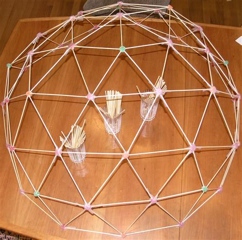 How To Make A Dome Shape Out Of Paper - a geodesic dome