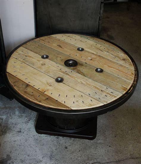 table basse bobine 2