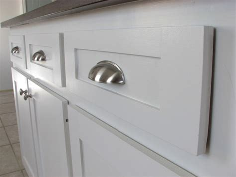 Cup Pulls On Cabinet Doors New Cup Drawer Pulls Install The Homy Design