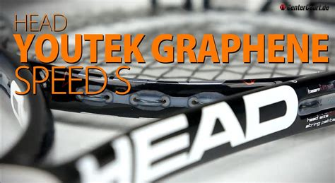 Speed S youtek graphene speed s tennisschl 228 ger