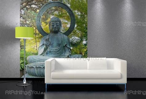 zen wall murals wall murals zen spa canvas prints posters buddha statue 2325en